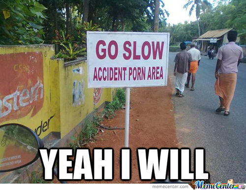 Accident Porn Area