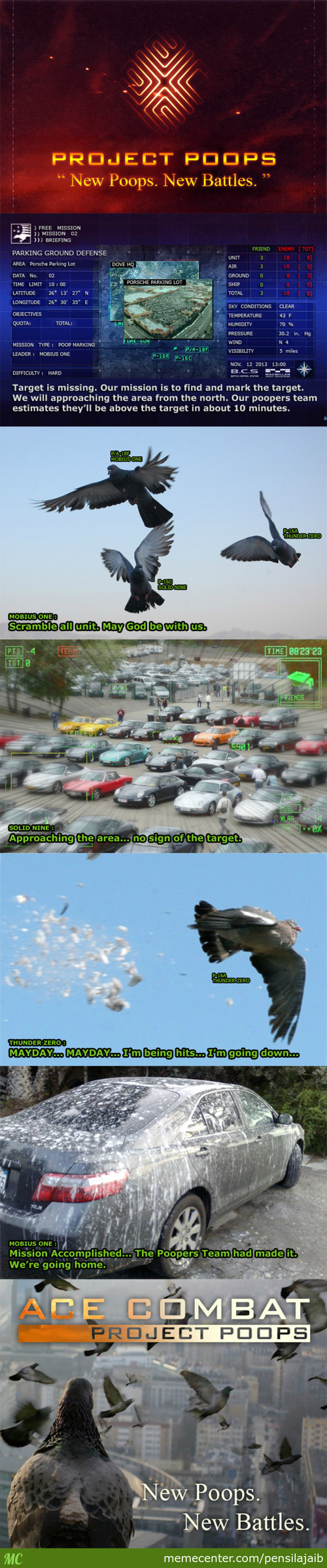 Ace Combat : Project Poops