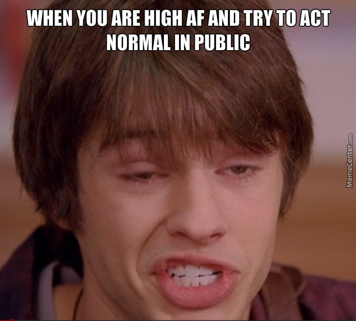 Acting Normal Is Hard Even When Sober