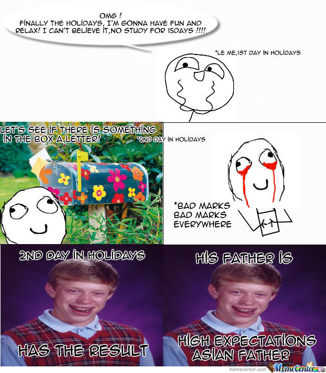 Actually I'm A Bad Luck Brian !