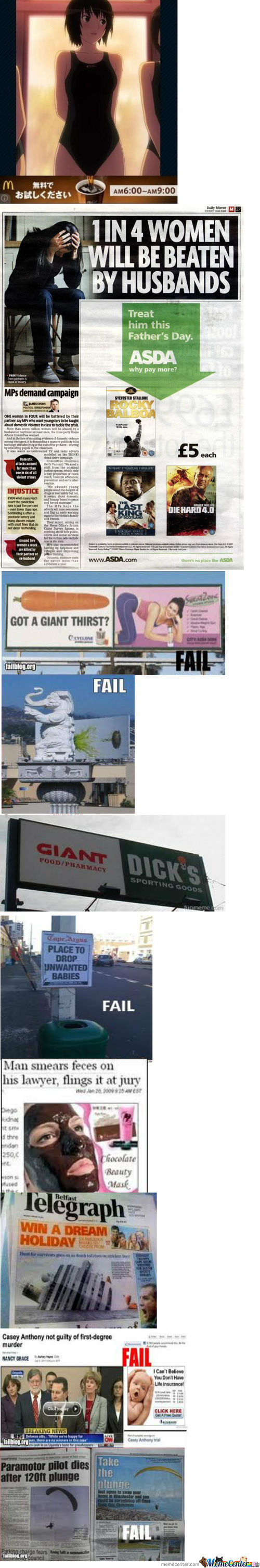 Ad Placement Fail Compilation
