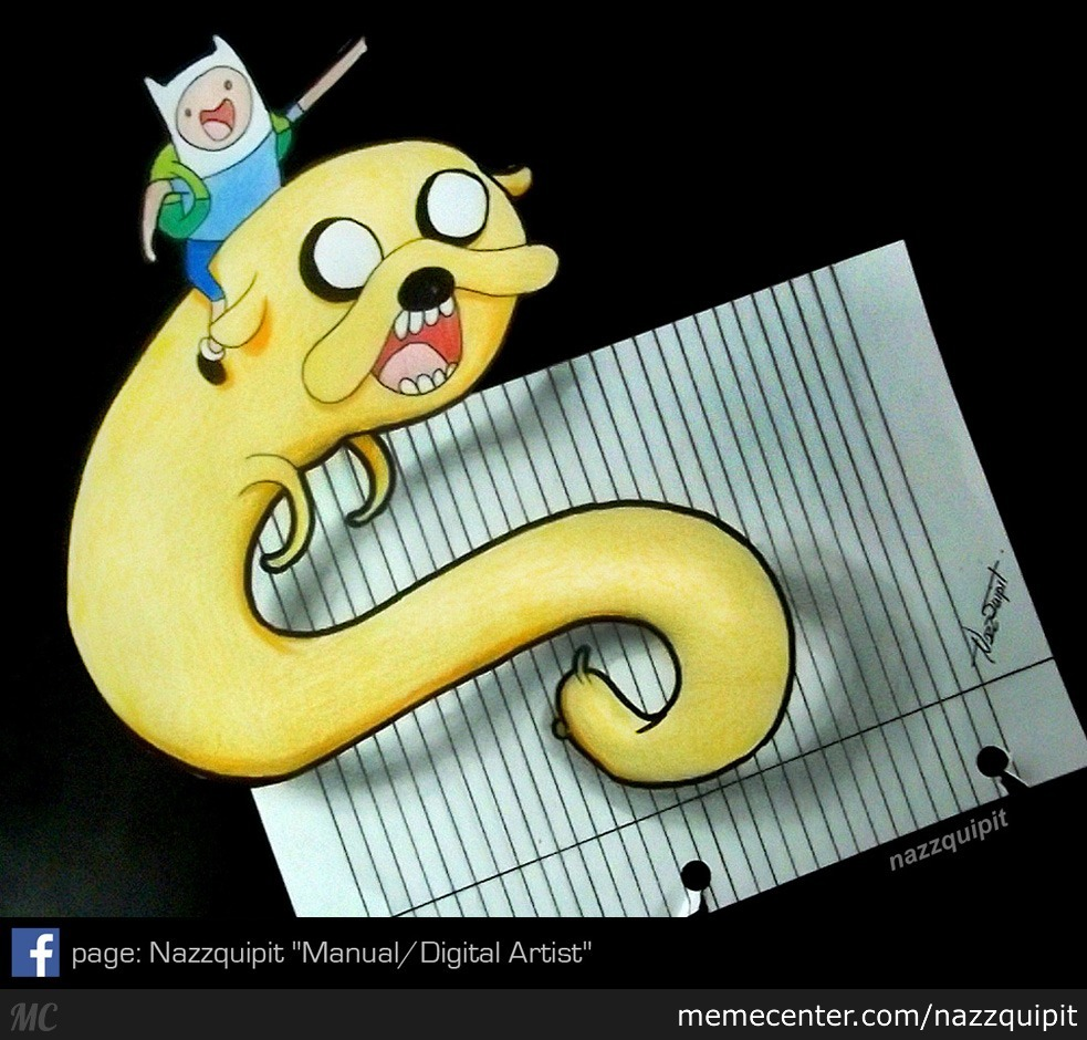 Adventure Time!_3D Draw