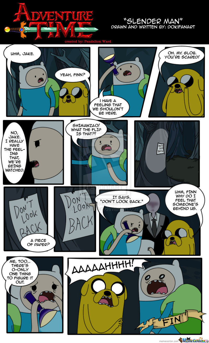 Adventure Time X Slenderman