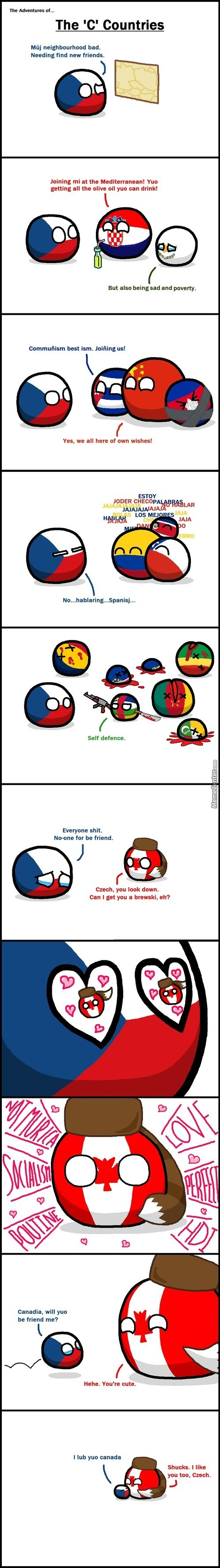 Adventures Of The C Countries