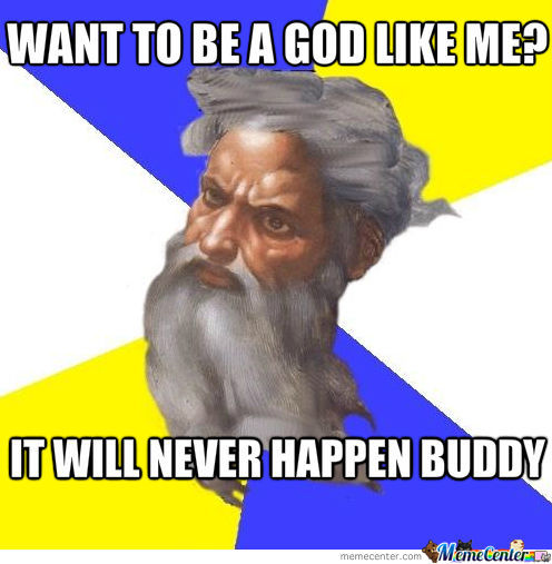 Advice God Is Disapointing