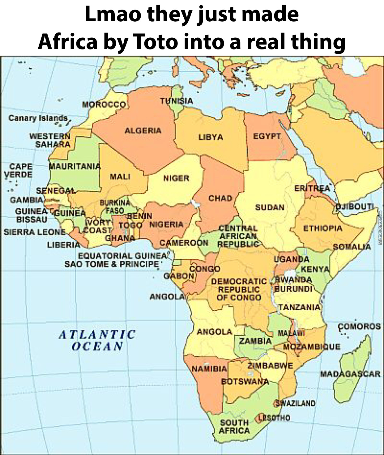 Africa By Toto Is Better Than Despacito by cobbleb  Meme Center