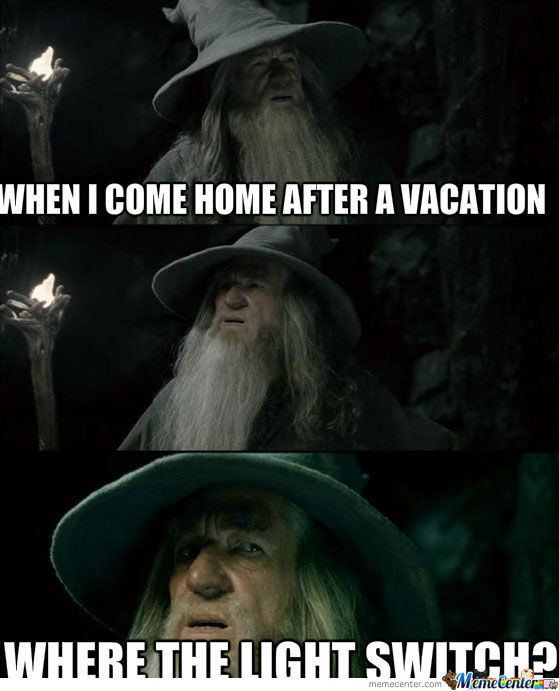 After A Vacation