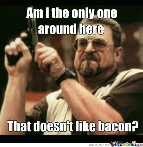 After All This Bacon Posts