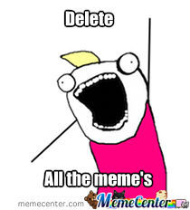After Finding Out That There Is A Delete Button