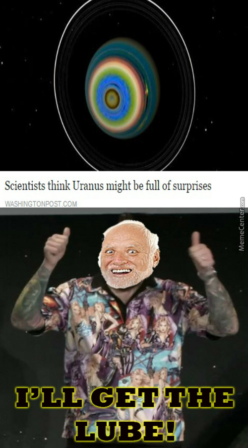 After Harold Probes Uranus, It Will Never Be The Same Again