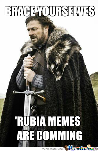 After I Saw A Couple Of 'rubia Memes