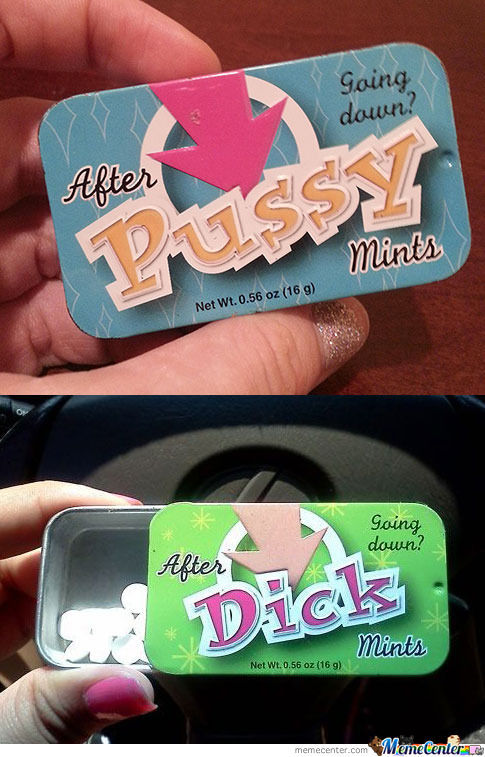After Pussy/dick Mints