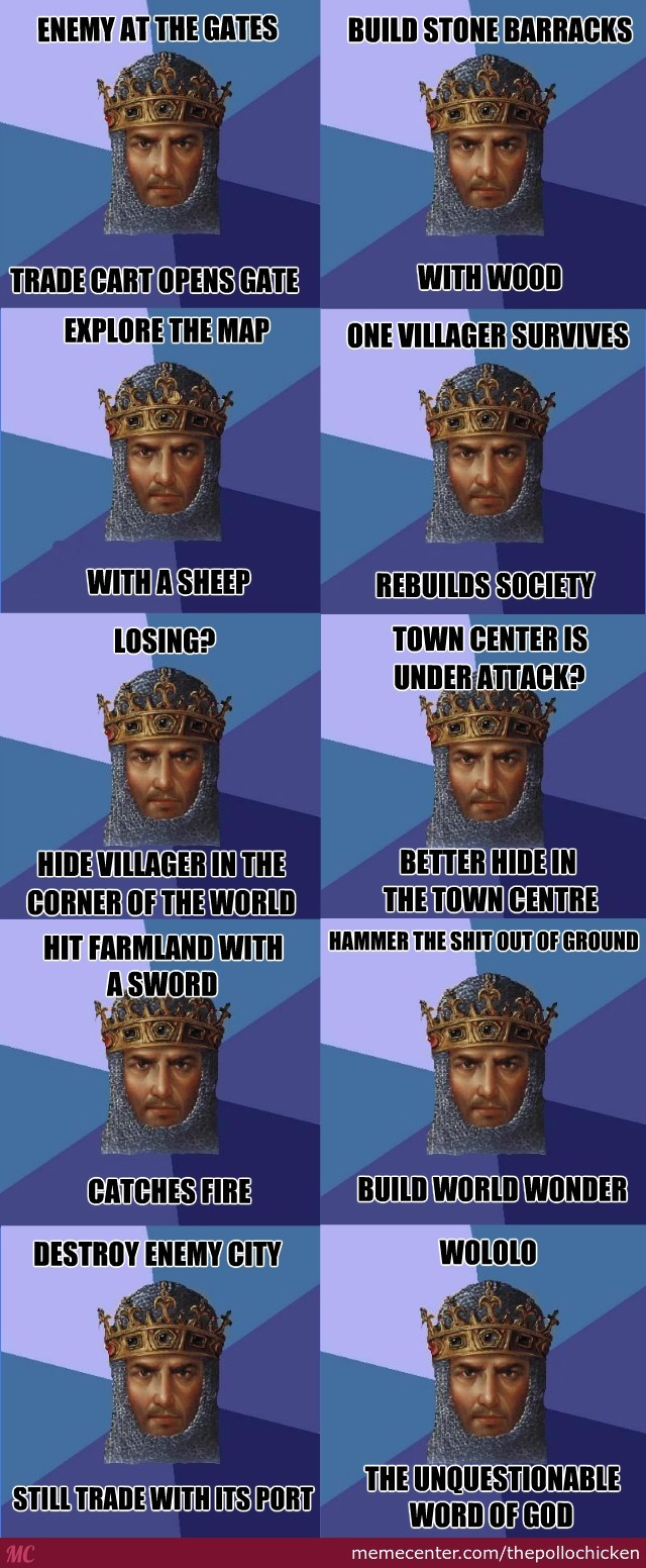 Age Of Empires And Its Unquestionable Logic