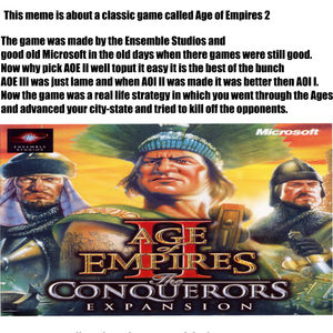 Age Of Empires Ii by zmajxd - Meme Center