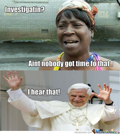Aint Nobody Got Time Fo That