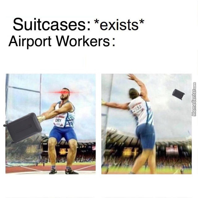 Airport Workers Are A Different Breed