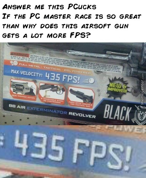 Airsoft Gun Is The True Master Race
