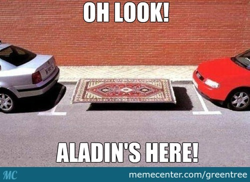 Aladin Is Here!