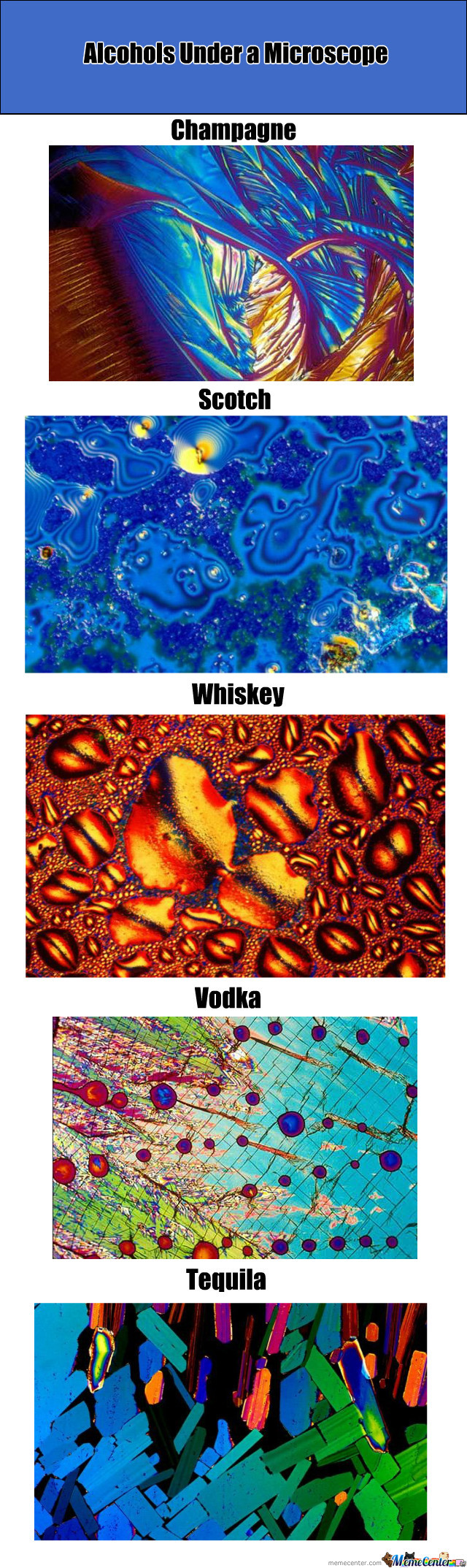 Alcohols Under A Microscope