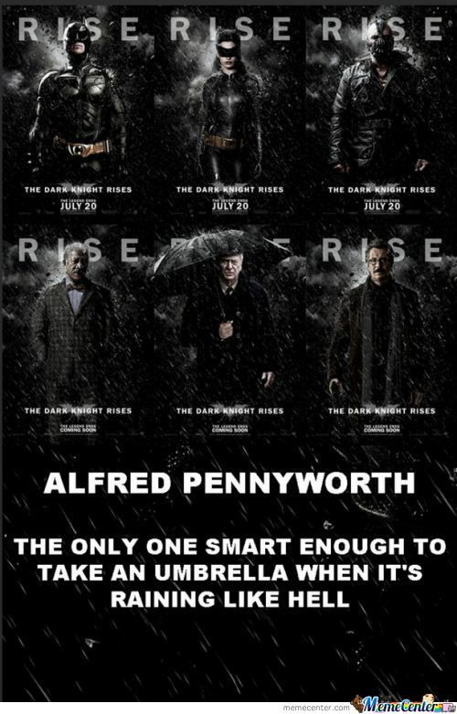 Alfred Is A Smart Man