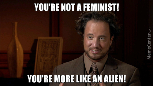 aliens and feminism Amazoncom: aliens and others: science fiction, feminism and postmodernism (9780877454472): jenny wolmark: books.