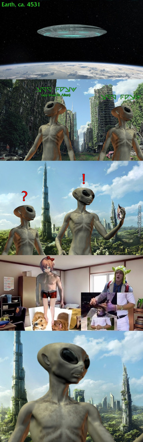 Aliens Discover Humanity's Greatest Legacy