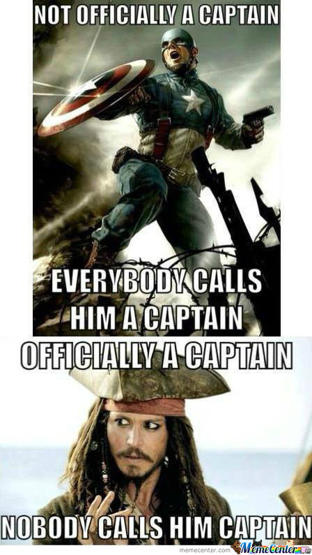 All Hail Captain Jack Sparrow