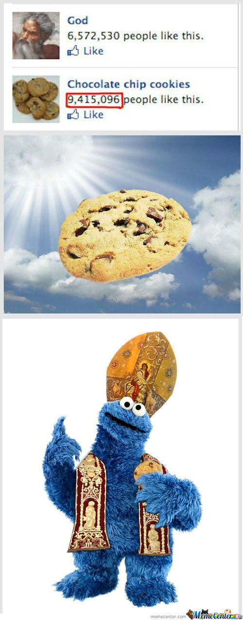 All Hail Pope Cookius Monstros