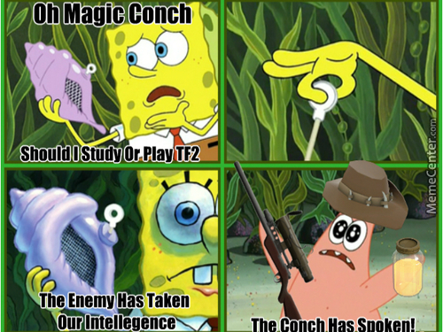 All Hail The Magic Conch