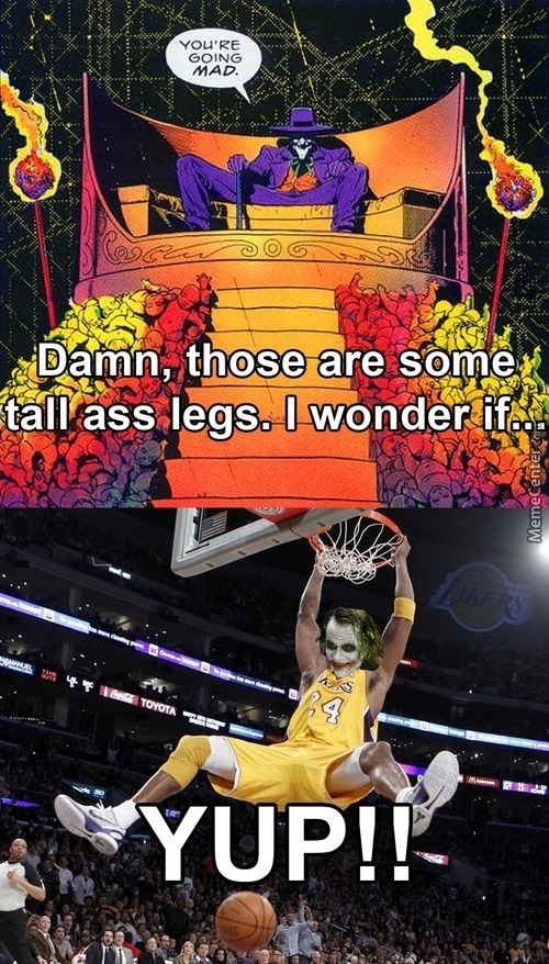 All It Takes Is One Slam Dunk