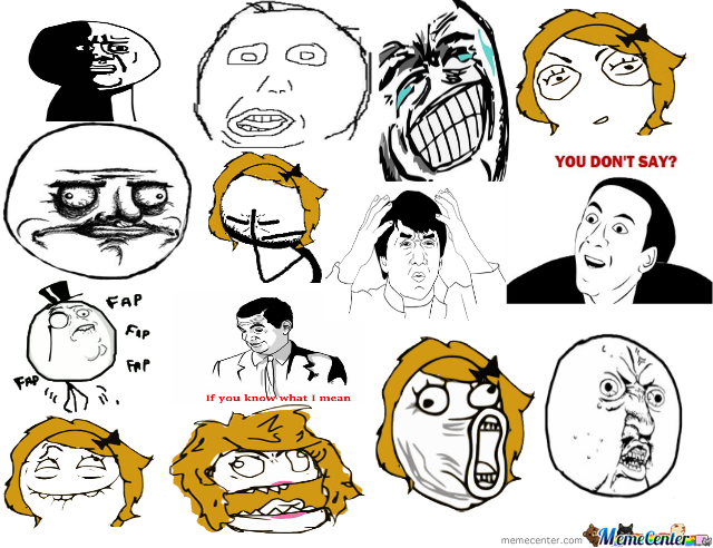 all my favorite faces_o_202637 all my favorite faces by sheldor19 meme center