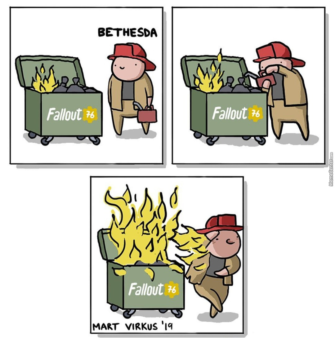 All People Working In Marketing For Bethesda Should Be Fired.