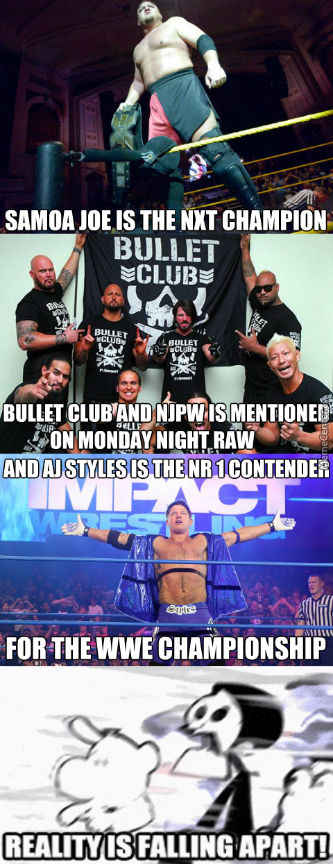 All That's Missing Is Maggle Cole Saying Wrestler Instead Of Superstar