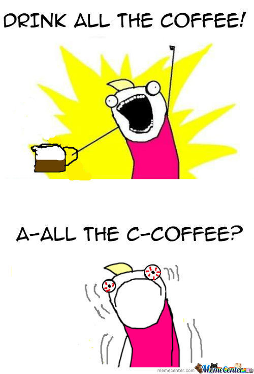 All The Caffeine!