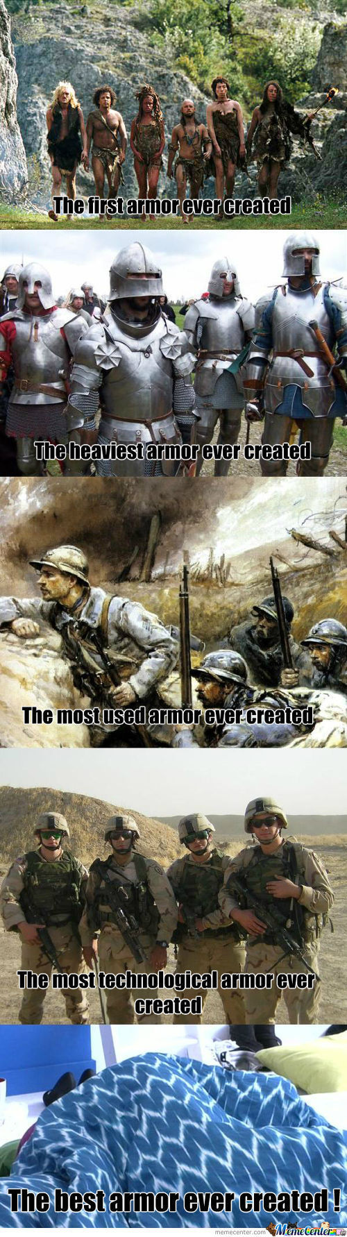 All Type Of Armor
