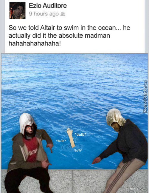 Altair Can't Swim.