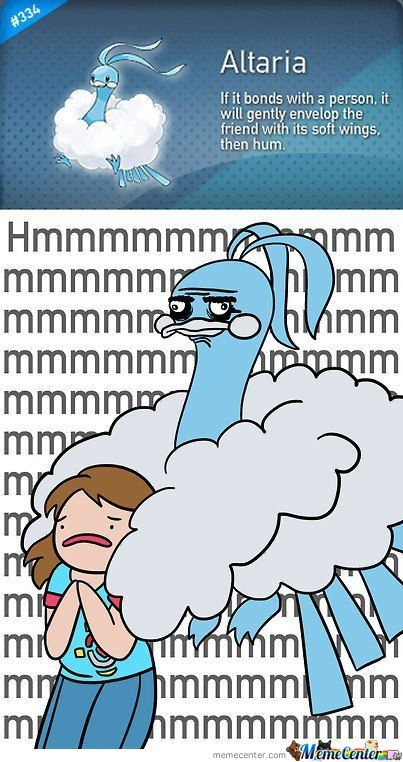 Altaria Is Like Pedobear With Clouds