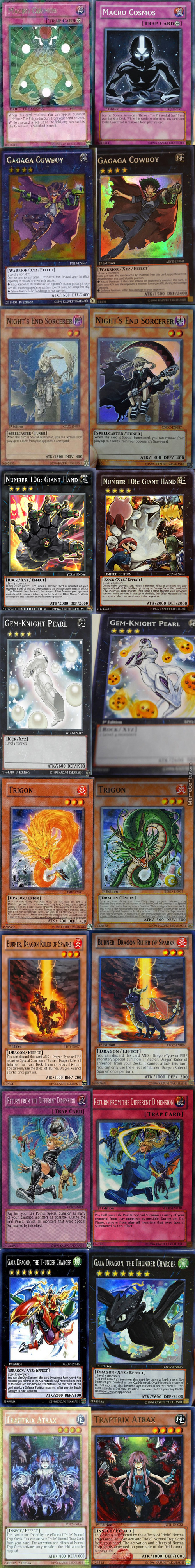 Altered Artwork Yugioh Edition By Amanda Lapalme