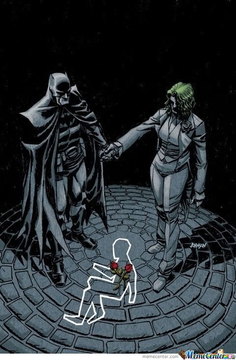 Alternate Universe Where Bruce Wayne Died Instead Of His Parents. Causing His Father Thomas Wayne To Become Batman And His Mother Martha To Go Insane And Become The Joker