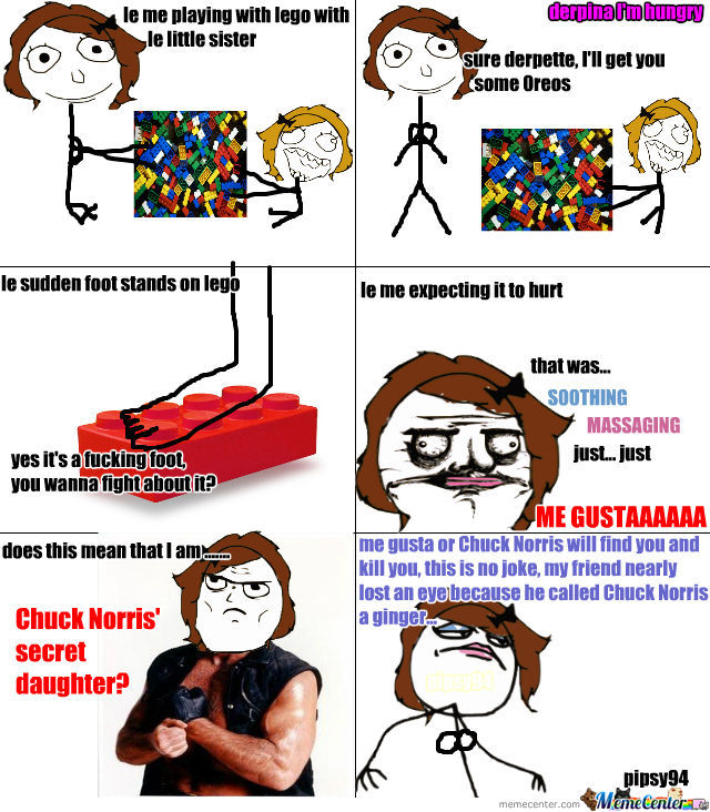 43 Chuck Norris Memes That Are So Badass They Should Get ...   Meme Chuck Norris Daughter