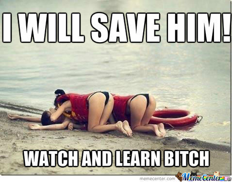 Amateur Lifeguard...