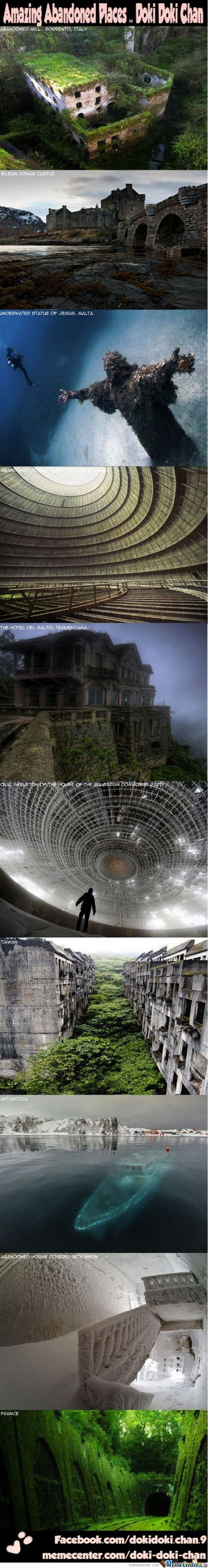 Amazing Abandoned Places