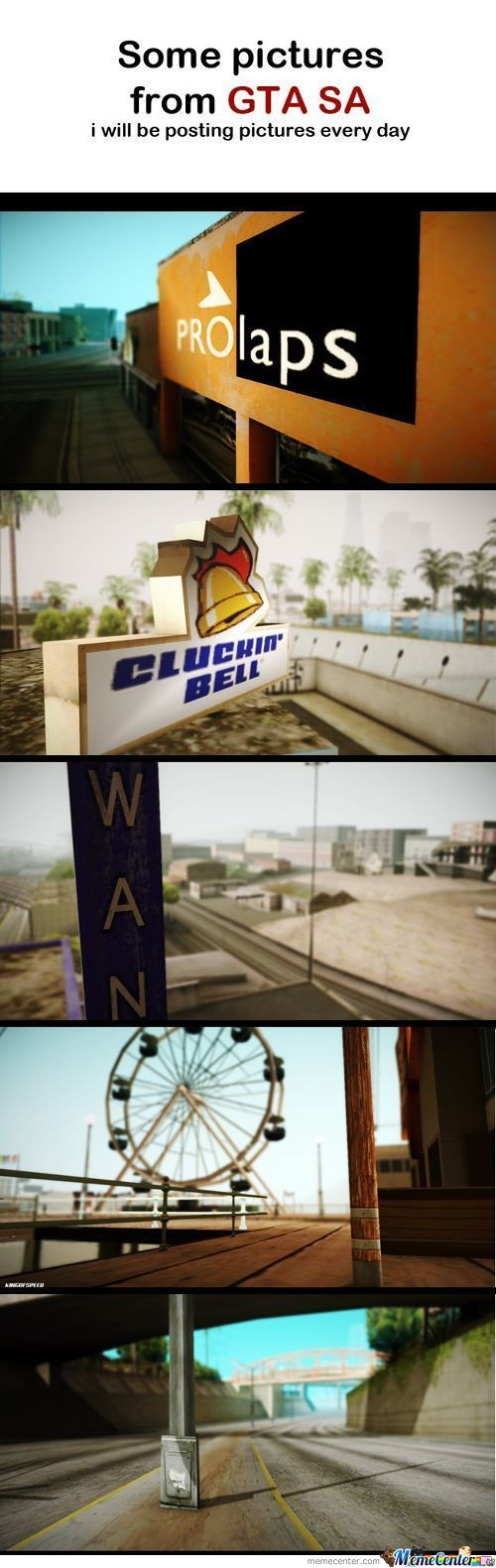 Amazing Pictures From Gta Sa