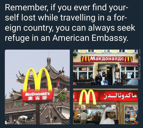 America, Refuge? What Are These Funny Words