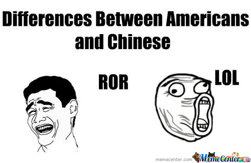 Americans And Chinese