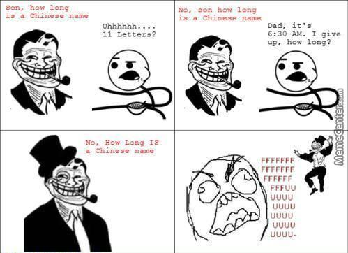 ''how Long'' Is The Chinese Name