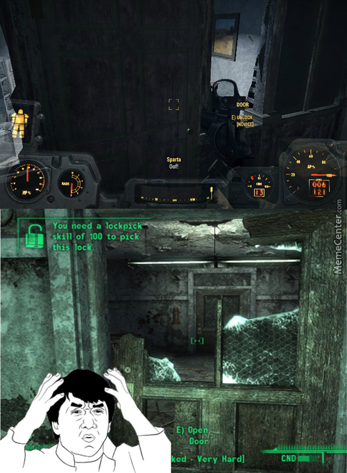 ''locked'' Fallout Door Makes A Return....