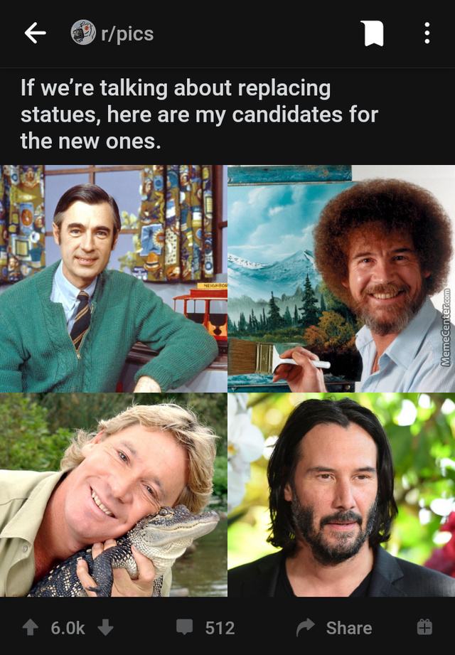≫An Aussie ≫A Meme ≫First One Is Actually A Statue ≫Afroman Good