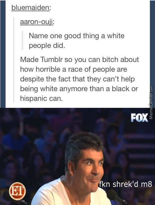 >implying Tumbler Is A Good Thing