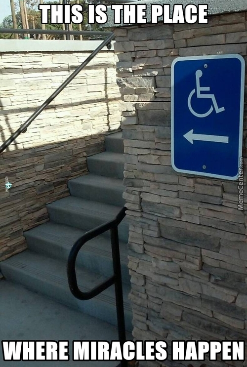 """"""" Get Up, Take Your Wheelchair And Go Home"""" As Jesus Said..."""